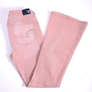 American Eagle Boho Artist Jeans Size 10
